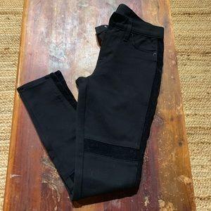 Hudson black skinny pants/jeggings